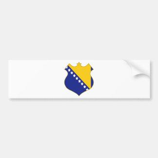 Bosnia-shield.png Bumper Sticker
