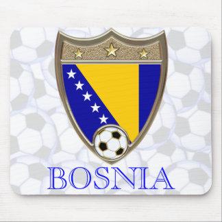 Bosnia Soccer Mouse Pad