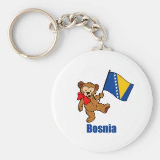 Bosnia Teddy Bear Keychains