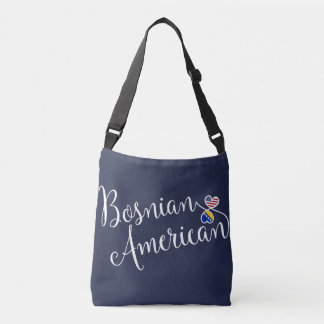 Bosnian American Entwined Hearts Bag