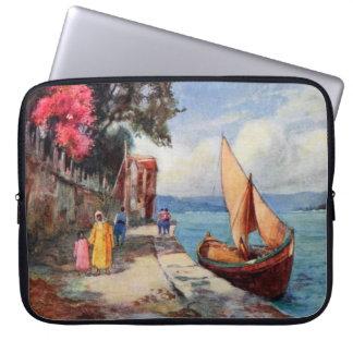 Bosporus Strait Istanbul Sail Boat Ocean View Laptop Computer Sleeves