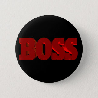 Boss 6 Cm Round Badge