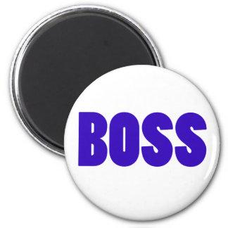 Boss 6 Cm Round Magnet