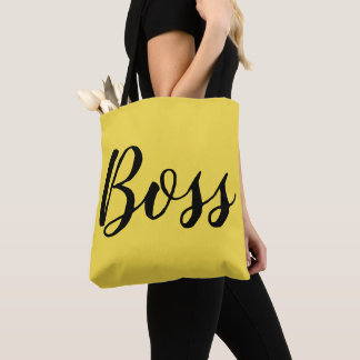 Boss All-Over-Print Tote Bag