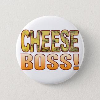 Boss Blue Cheese 6 Cm Round Badge