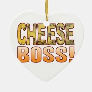 Boss Blue Cheese Ceramic Heart Decoration