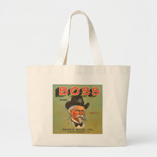 Boss Brand Produce Vintage Ad Canvas Bag