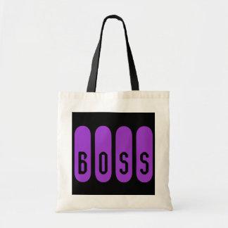 Boss Budget Tote Canvas Bag