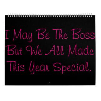 Boss Calendar