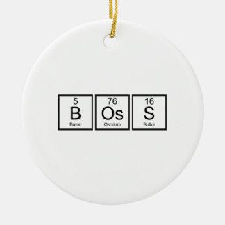 Boss Elements Christmas Ornament