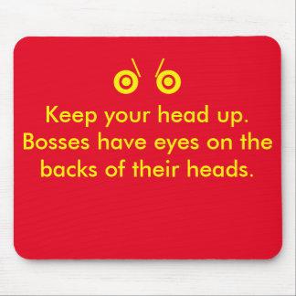 Boss eyes mouse pads