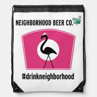 Boss Flamingo, Drawstring Bag