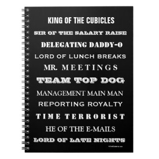 Boss Funny Names and Cruel Joke Job titles Notebook