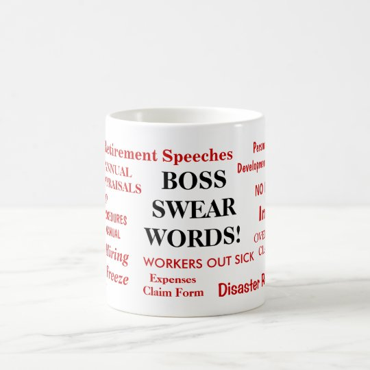Boss Gift - Funniest Rudest Boss Mug -