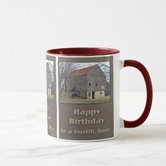 Boss Happy Birthday Old Bank Barn