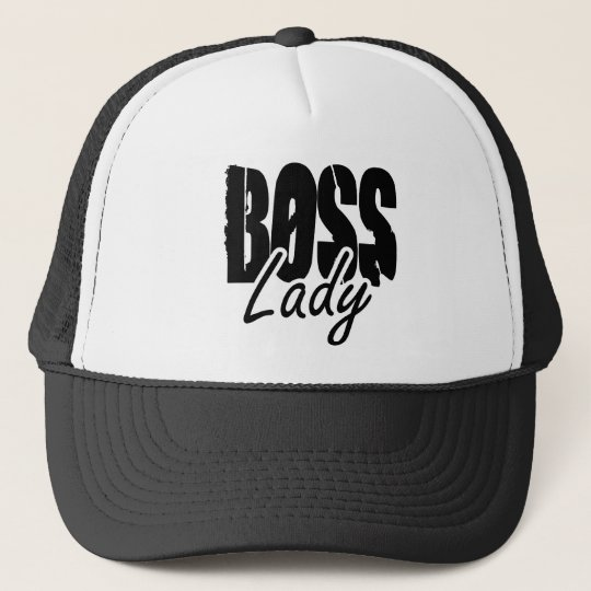 Boss Lady $17.95 (11 colours) Collectable Hat