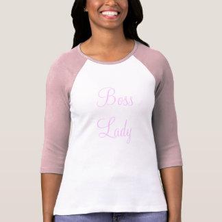 Boss Lady Baseball Jersey Tshirt