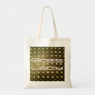 Boss Lady Bling Budget Tote Bag