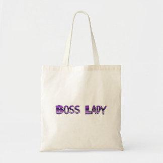 Boss Lady Budget Tote Bag