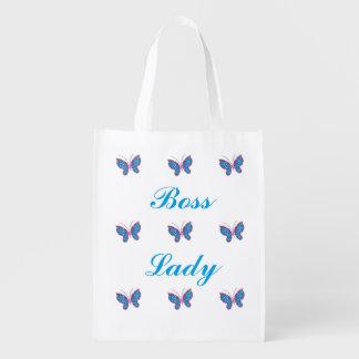 Boss Lady Butterflies Reusable Bag