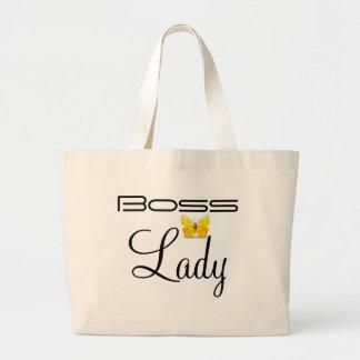 Boss Lady Butterfly Jumbo Tote Jumbo Tote Bag