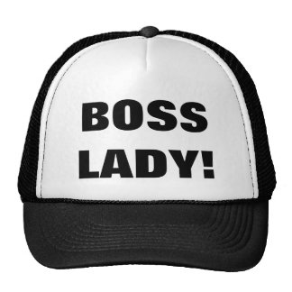 BOSS LADY! CAP