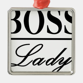 BOSS LADY CHRISTMAS ORNAMENT
