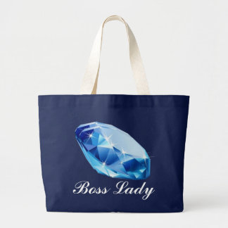Boss Lady Diamond Budget Tote Jumbo Tote Bag