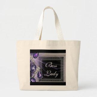 Boss Lady Diamonds Jumbo Tote Bag