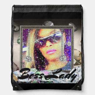Boss Lady Diamonds Rucksack