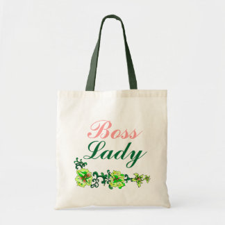 Boss Lady Flowers Budget Tote Budget Tote Bag