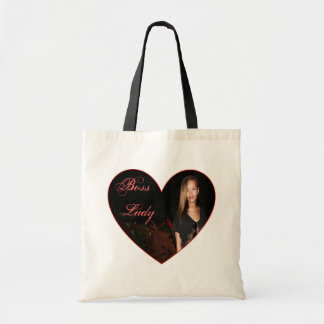 Boss Lady Heart Budget Tote Budget Tote Bag
