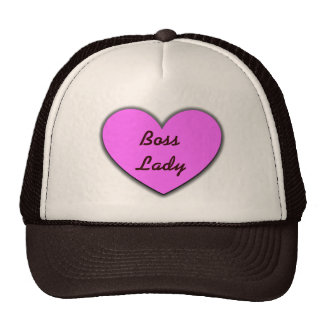 Boss Lady Heart Glow Hat