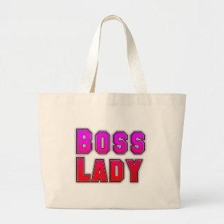 Boss Lady Jumbo Tote Bag