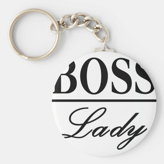 BOSS LADY KEY RING