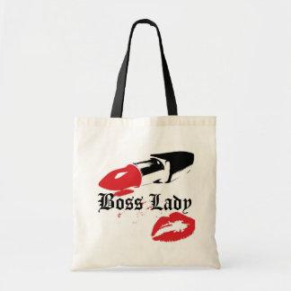 Boss Lady Lipstick and Lips Budget Tote
