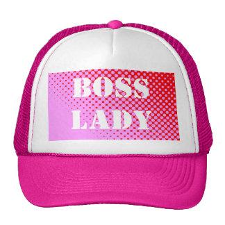 Boss Lady Pink Hat
