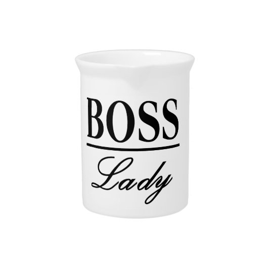 BOSS LADY PITCHER