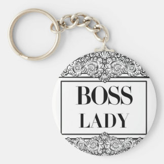 Boss Lady- Positive Quote´s Key Ring