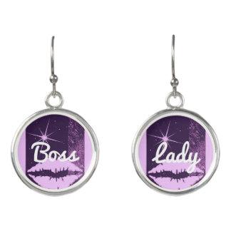 Boss Lady Sparkle Earrings