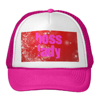 Boss Lady Sparkle Trucker Hat