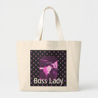 Boss Lady Stars Jumbo Tote Bag