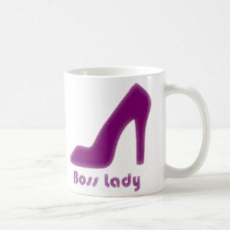 Boss Lady Wine Pump Coffee Mug