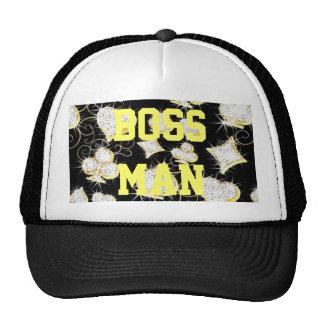 Boss Man Hearts and Diamonds Trucker Hat