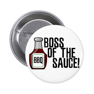 Boss of the Sauce 6 Cm Round Badge