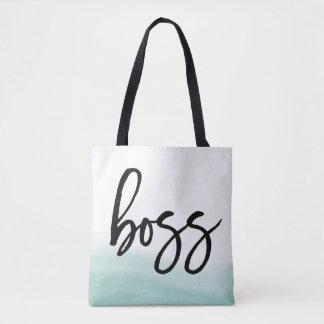 Boss   Sea Watercolor Tote Bag