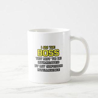 Boss Superior Intelligence Coffee Mugs