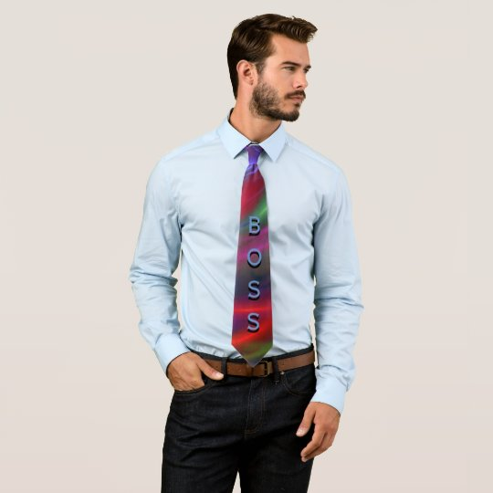 Boss Tie - Create your 4-letter Message