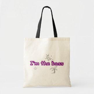 boss canvas bag