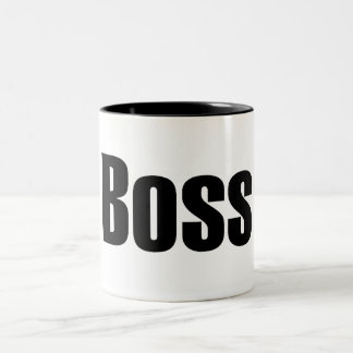 Boss Two-Tone Mug